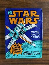 Vintage 1978 Topps Star Wars Series 5 Unopened Wax Trading Card Pack