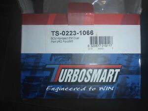 2 X Turbosmart Kompact EM BOV VR2 Dual Port (TS-0223-1066) AMG C63s W205 M177
