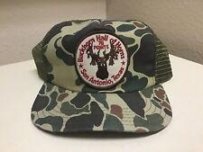 Buckhorn Hall of Horns 78 Points San Antonio, Texas Camo Snapback Trucker / Cap