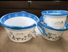 Joyo Bucket Bowl Basin And Jug Blue