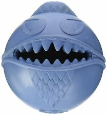 Jolly Pets Monster Ball 2.5 inch Blue | Treat Hiding Rubber Toy for Small Dogs