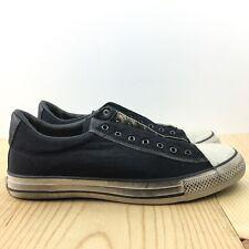 Converse X John Varvatos CTAS Vintage Slip Ox Size 10.5 Mens Black Beluga Shoes