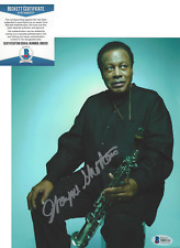 WAYNE SHORTER JAZZ SAXOPHONE ICON SIGNED AUTHENTIC 8x10 PHOTO BECKETT BAS COA