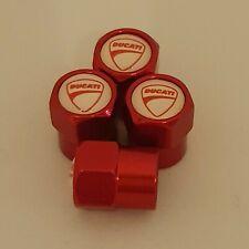 DUCATI metal Wheel Valve Dust caps all models Red 5 colors Xmas stocking monster
