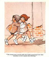 Madge Williams.1940.Charming.Scamps.Vintage.1940's.Children's print.Art