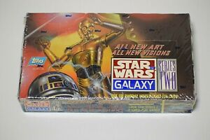 Star Wars Galaxy Series 2 Topps Trading Cards - Factory Sealed Box.