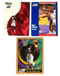 Lot Of 3 Karl Malone Basketball Cards