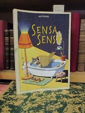 MATTICCHIO - Sensa senso - Milano Libri 1993 Prima edizione