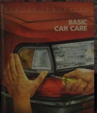 """Basic Car Care;  FIX IT YOURSELF """"How to""""  Book ( by TIME-LIFE, 1988, Hardcover)"""
