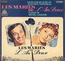 """MICHEL LEGRAND """"LES MARIES DE L'AU DEUX"""" B.O. FILM 60'S LP JEAN PAUL BELMONDO !"""