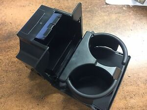 NEW OEM 2008-2015 NISSAN GREY FRONT DASH CUPHOLDER TITAN CENTER CONSOLE AREA