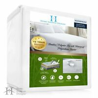 Bamboo Mattress Protector Waterproof Bug Dust Mite Hypoallergenic Bedding Sheets