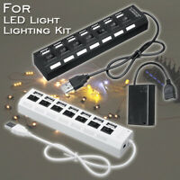 5V Batterie Box Power Functions mit USB Ports für LEGO LED Licht Kit Beleuchtung