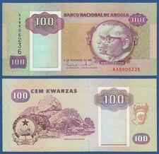 ANGOLA 100 Kwanzas 1991  UNC  P.126