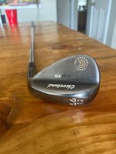 Cleveland Black Pearl CG15 56 degree Wedge Tour Zip Grooves Conforming Grooves