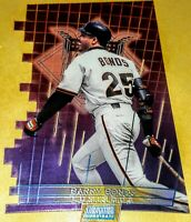 1999 Stadium Club Triumvirate Luminescent #T14C Barry Bonds San Francisco Giants