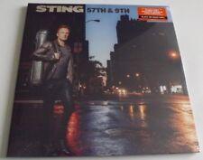 STING 57TH & 9TH BLACK VINYL ALBUM LP SEALED SECRET SANTA GIFT THE POLICE