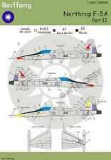 Bestfong Decal 1/144 Northrop F-5A R.O.C. (Taiwan) AF Part2