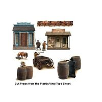 Western Shootout Scene Setters Decorations wild west cowboy theme party wall