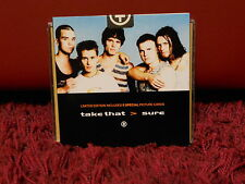 TAKE THAT - SURE - limited edition includes 5 special picture card SIGILLO NUOVO