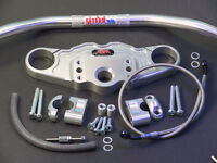 ABM Superbike Lenker Umbau-Kit TRIUMPH Daytona T595 // 97-98 Fz-Typ: T595 silber