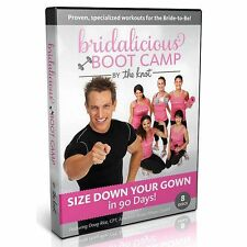 BRIDALICIOUS The Knot Get Wedding Dress Ready Fitness Boot Camp NEW DVD Exercise