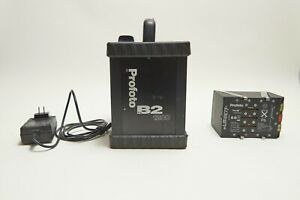 Profoto Pro 7B2 1200 Pack, Lithium Ion Battery, Charger, Battery Re-Celled  2019