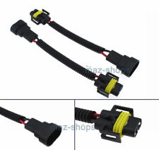 2X 9006 to H11 Headlight Fog Lamp Conversion Pigtail Connectors Wiring Harness K