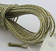 20M STRONG CLOTHES LINE WASHING LINE STEEL METAL CORE WIRE GARDEN CAMPING CORD