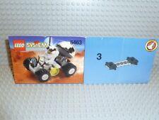 LEGO® System Town Bauanleitung 6463 Mondfahrzeug ungelocht instruction B372
