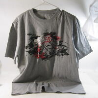 new  Nike AIR JORDAN GRAY TEE SIZE L  ***