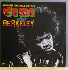 JIMI HENDRIX Jimi Plays Berkeley Near Mint Soundtrack Barclay Records