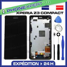 ÉCRAN LCD + VITRE TACTILE BLOC ASSEMBLÉ SONY XPERIA Z3 COMPACT NOIR
