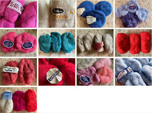 Vintage Quality Mohair Wool Yarn in Many Colours - Combined Post