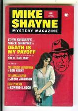 MIKE SHAYNE MYSTERY MAG 4/71, US crime noir sleaze gga digest mag, Ed Hoch