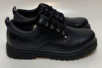 Skechers Men's Alley Cats Utility Oxford Black Footwear Pick Size