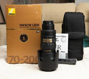 Nikon AF-S 70-200mm F2.8 G VR ED ***Excellent Condition***