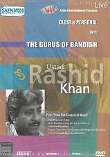 Ustad Rashid Khan - LOS GURUS DE Bandish - Nuevo Bollywood DVD CANCIONES