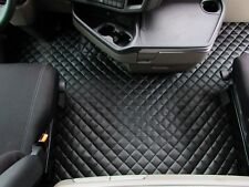 TRUCK Floor Mats LHD For SCANIA S 500 AUTOMAT AFTER 2017 BLACK Eco Leather