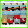 12 NEW PAIRS MENS STRIPED MULTI COLOUR EVERYDAY SOCKS SIZE 6-11 SMART CASUAL