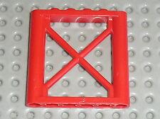 LEGO CITY Red Support 1 x 6 x 5 Girder Rectangular ref 64448 / Set 3368 & 4430