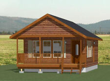 18x30 Tiny House -- 540 sq ft -- PDF Floor Plan - Model 5C