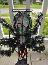 20� Animated Multi Motion Lighted Spider Halloween Decor With Box Rare Vintage