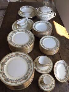 Servizio completo porcellana inglese AYNSLEY fine english bone china