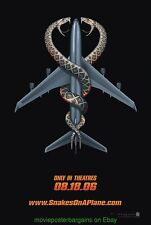 Snakes On A Plane Movie Poster Original Rolled Ds 27x40 Samuel Jackson