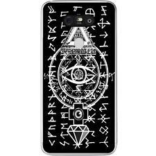 Coque Housse Etui LG G5 à motif Silicone Gel qualité FR - Symboles Illuminati