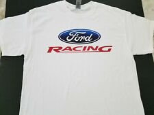 Brand New Ford Racing T-shirt nascar nhra gt lemans shelby cobra daytona mach 1