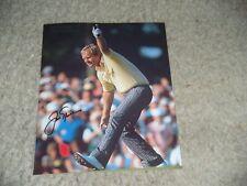 JACK NICKLAUS signed GOLF PGA 8x10 photo Masters Champ