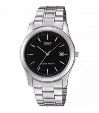 Casio MTP1141A-1A Men's Analog Stainless Steel Black Dial Dress Watch