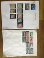George VI Falkland Islands Stamp Collections 1946 Dependencies & 1938 20 Stamps
